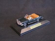 Faller Mercedes-Benz 280 SE 3.5 Cabriolet 1:43 Black / Brown Interior (JS)