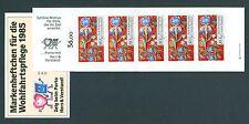 Bund MH Wohlfahrtspflege 1985 mit 6 x 1261 **