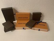 Set Of Louis Vuitton Boxes- Multiple Sizes
