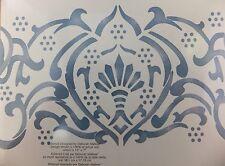 Alhambra Tapestry Border Stencil Decor Wall Art Bathroom