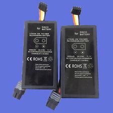 2 Pack x 4000mAh 11.1V  Parrot Disco battery Batterie