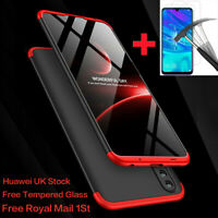 360° Full Body Cover Shockproof Hard Case For Huawei P20 Pro Lite/P Smart 2019