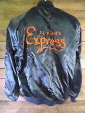 St Peter's EXPRESS #20 Diane Vintage Satin Jacket Size L