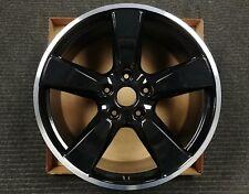 "1 Factory Porsche Panamera 4S Turbo  20"" x 11.5"" OEM Rear Wheel 67449 Rim Black"