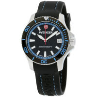 Wenger Sea Force Quartz Movement Black Dial Ladies Watch 0621.102