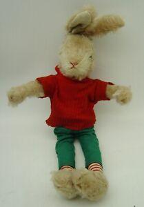 cute vintage Schuco bigo-bello Hegi Mohair Rabbit Bunny