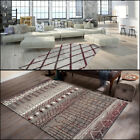Traditional Oriental The Moroccan Design Style Red Cream Rug Carpet