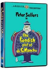 FIENDISH PLOT OF DR FU MANCHU - (1980 Peter Sellers) Region Free DVD - Sealed