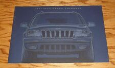 Original 2002 Jeep Grand Cherokee Deluxe Sales Brochure 02