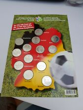 FIFA 2006 Germany 13 Different Football Tokens Excellent Condition Germany