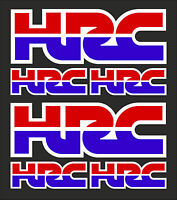 6 HRC HONDA RACING CORPORATION STICKERS cbr fireblade