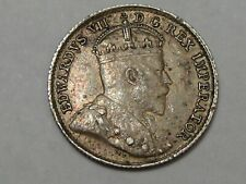Better-Date/Grade 1910 Silver Canadian Five Cent Coin (Full Crown). Edward VII