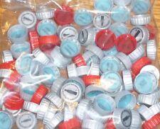 100 COCA COLA / COKE   PLASTIC BOTTLE CAPS  UNUSED  POINTS