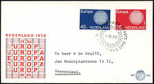 Netherlands 1970 Europa FDC First Day Cover #C27435