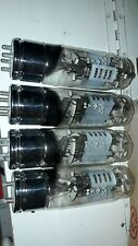 from the 40'S QUAD OF 4pcs NEW ! NOS NIB  GEC MARCONI CV57 tubes plus large KT66
