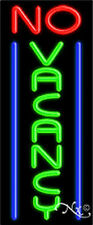 NO VACANCY HANDCRAFTED REAL GLASSTUBE NEON SIGN