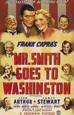 Metal Sign Mr Smith Goes To Washington 01 A4 12x8 Aluminium