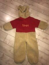 Kids Childs 5/6 Yrs Disney Winnie The Pooh Dress Up Costume One Piece