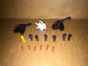 Manta Force - 2 The Dictator + Porcupine + 7 Missile's + Figures - Bluebird Toys