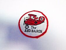 Vintage Snoop The Red Baron Embroidered Fabric Patch