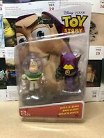Disney Pixar Toy Story Small Fry Buzz Lightyear And Zurg Figures NEW RARE