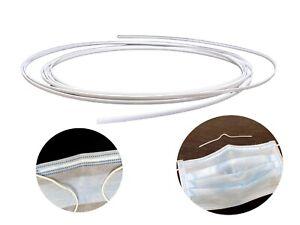 5M X plastic pvc nose bridge adjuster clip strap strip for diy crafts making