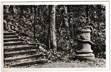 Ansichtskarte Weimar - Blick auf den Schlangenstein - schwarz/weiß