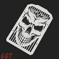 Skull Radiator Cover Grill Guard For Kawasaki VN900B Vulcan 900 Classic hot Sale
