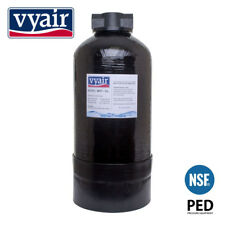 1 X Vyair 0817 11 Litre Di Resin Vessel Hozelock Clunk-click Fittings - Filled