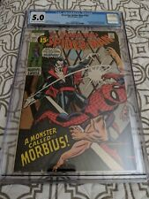 Amazing Spider-Man #101 CGC 5.0 1st app Morbius.   Light tan to Off White