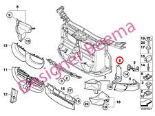 BMW serie 1' 3' X1 E81 E87 E88 E82 E90 E91 E92 E93 Placa de Soporte de parachoques (frontal)