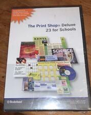 Broderbund The Print Shop Deluxe Version 23 -for Schools - NEW+SEALED