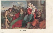 Künstler Postkarte - Palma Vecchio / Hl. Familie