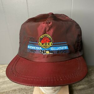 Texaco Havoline PPG 200 Budweiser G.I. Joe's Portland Rose Festival Hat Snapback