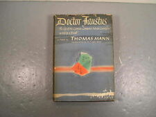 Doctor Faustus Life Of Adrian Leverkuhn Thomas Mann Stated 1st American 1948