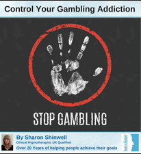 Stop Gambling Addiction, Compulsive Gambling Problems. Hypnosis CD @HALF PRICE