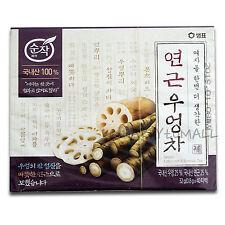 Organic Lotus Root & Burdock Tea Herbal Women Health Detox Diet Nature 40Tea Bag