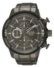 Pulsar Stainless Steel Strap Wristwatches with Chronograph