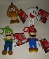 World of Nintendo COMPLETE set of 4 Clip On Series 1 Jakks Pacific 5""