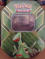 Pokemon* SCEPTILE - EMPTY TIN (NEW UNUSED) - GREAT FOR CARD STORAGE / HOLD CARDS