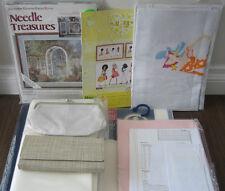 Cross Stitch Lots - Kit/Fabric/Aida/Purse/Pattern Rare Items