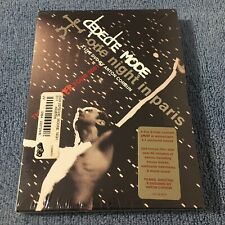 Depeche Mode - One Night In Paris: The Exciter Tour 2001 (DVD, 2002) Brand New