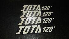 1 x LAVERDA 1000 JOTA ORIGINAL TANKEMBLEM TANK EMBLEM NOS BADGES 120
