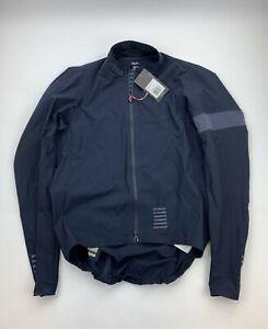 RAPHA Pro Team Lightweight Shadow Jacket Dark Navy Size XL New