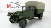 Scale Car 1:43,   GAZ-AA Olive matt and gray awning