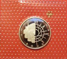 BRD 10 Deutsche Mark 1989 D 2000 Jahre Bonn PP  15,5g  625er Silber