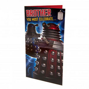 Doctor Who - Birthday Card (BROTHER)