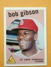 Bob Gibson 2006 Topps Rookie of the Week #19 St. Louis Cardinals