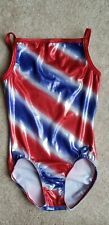 Gk Elite Girls Gymnastics Leotard Adult Extra Small