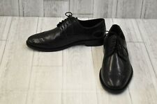 Nunn Bush Nelson Wing Tip Dress Casual Oxford - Men's Size 9M, Black